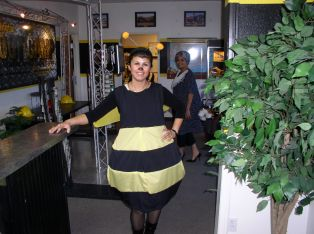 Veronica Fernandez (Job Placement Director)=The Bee